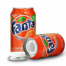 Fanta Orange Safe Container